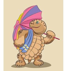 Turtle vector image vector image