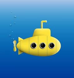 Yellow Submarine Stock vector image