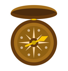 Compass icon isolated vector