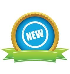 Gold new logo vector