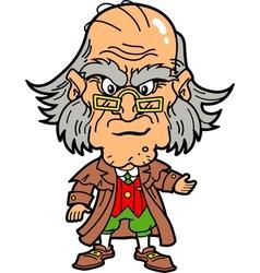 Scrooge vector image vector image