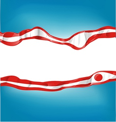 japan flag on background vector image