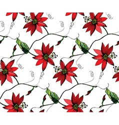 Passiflora pattern2 vector