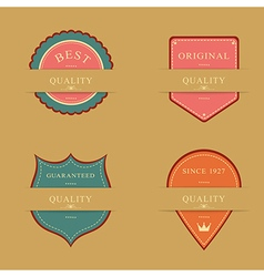 Label design set vector