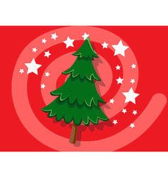 Christmas Tree icon christmas vector image vector image