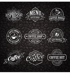 Coffee shop emblems 3 vector