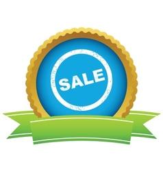 Gold sale logo vector