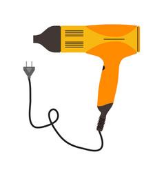 hair dryer icon salon beauty symbol hairdresser vector image vector image