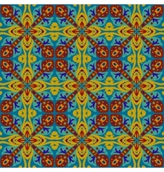 square ethnic seamless pattern vector image vector image