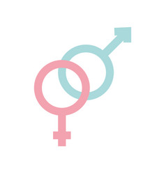 Male and female symbol vector