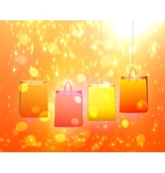 Paper Bag for your design vector image