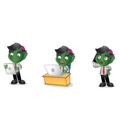 Zombie 3 vector image