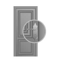 Door lock replacement vector
