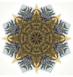 Modern mandala design vector