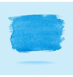 Watercolor design element vector image