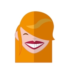 Woman icon Avatar cartoon graphic vector image