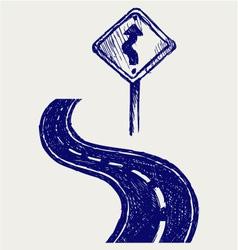 Road vector image