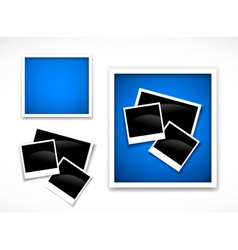 Photos frames vector