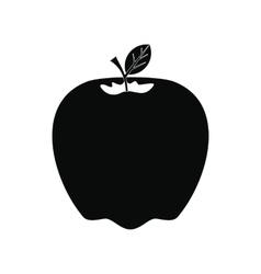 Apple icon black vector