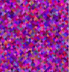Multicolored curved mosaic pattern background vector