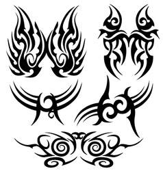 tatoo set vector image