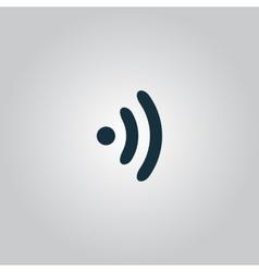 Wireless Icon Flat design vector image vector image