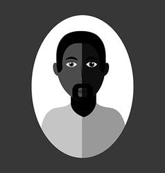 Avatar male design vector