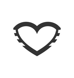 Iron-Heart-380x400 vector image