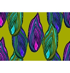 Agate green pattern vector image