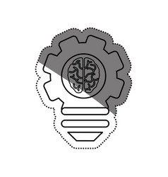 Bulb idea and human brain vector