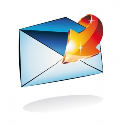 email received vector image