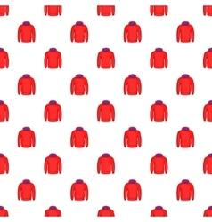 Men winter sweatshirt pattern cartoon style vector