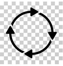 Rotation icon vector