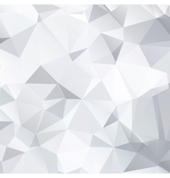 Abstract black and white background of polygonal vector image