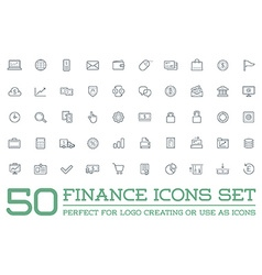 Set of finance money icons and payments and income vector
