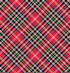Kemp tartan fabric texture check diagonal seamless vector