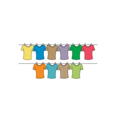 T-shirts-drying-380x400 vector