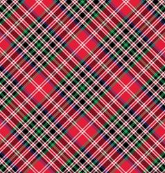 Kemp tartan fabric texture check diagonal seamless vector