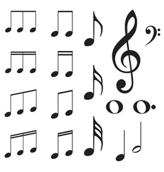 Music Notes2 vector image vector image
