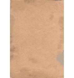 old cardboard texture vector image