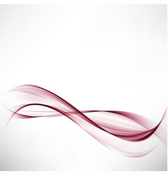 abstract background with transparent red lines in vector image