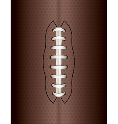 American Football Ball Background vector image vector image