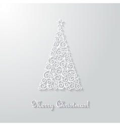 Christmas vctor card vector image