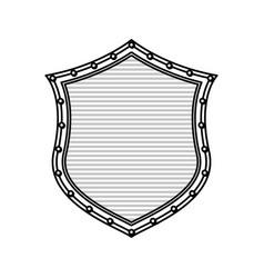 Shield security symbol vector