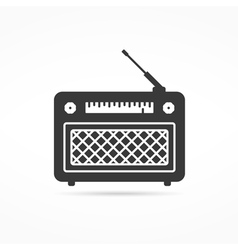 Radio Icon vector image