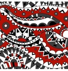 Ornate ethnic seamless pattern vector