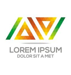 Alphabet letter font a design vector