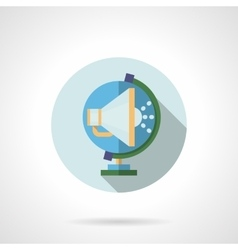 Global promotion flat icon vector image