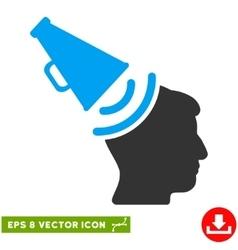 Propaganda megaphone eps icon vector