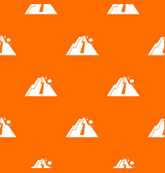rockfall pattern seamless vector image vector image